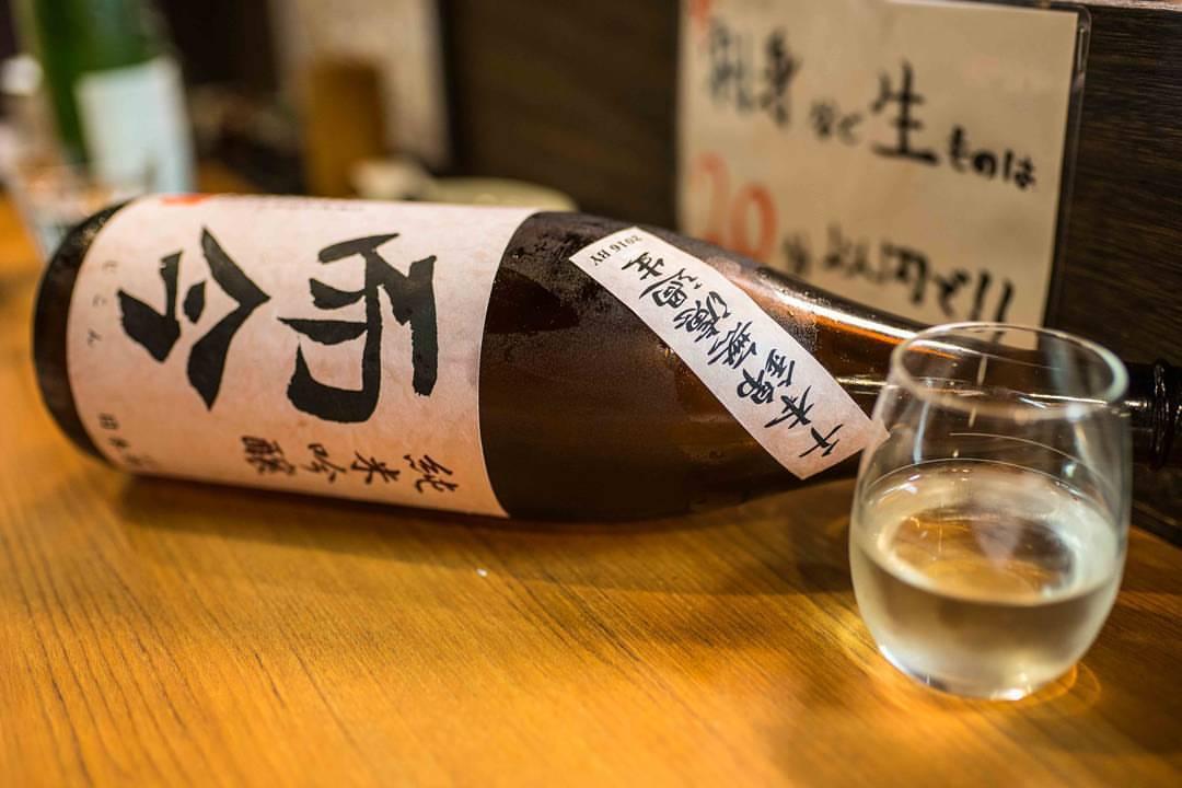Jikon Junmai Ginjo at Saketory in Osaka from our most recent visit. Good times with @sakesumo #sake #deeposaka #nihonshu #日本酒 #純米吟醸酒 (at Saketory)