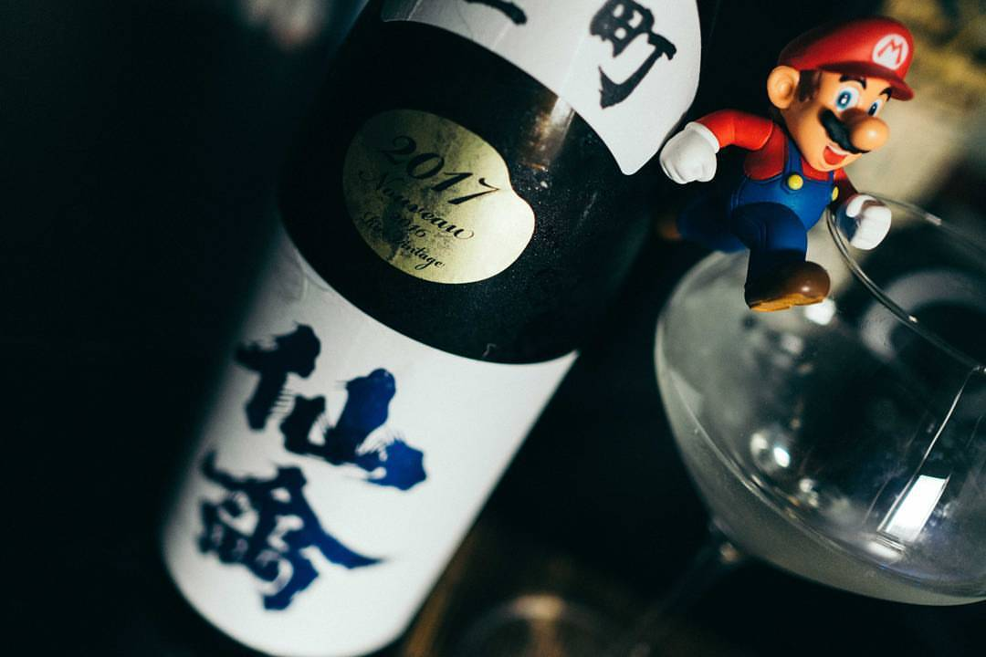 Celebrating E3 with the outstanding Senkin Omachi Junmai Daiginjo. We'll be talking about this one on an upcoming show! #tochigi #classic #omachi #sake #senkin #日本酒 #仙禽 #雄町
