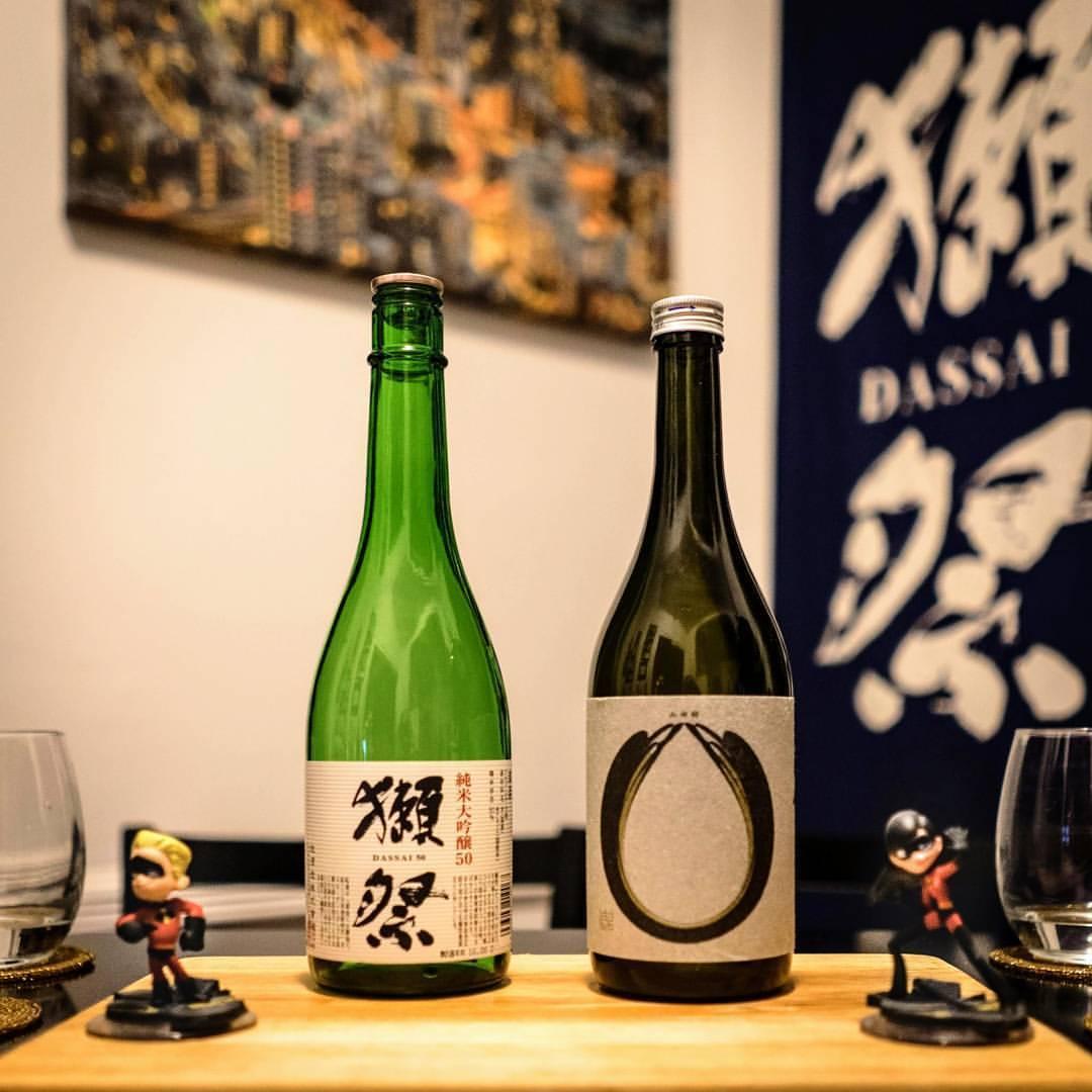 Battle of the Yamadanishi 50% Seimaibuai Junmai Daiginjos!    #sake #nanbubijin #dassai #incredibles #junmaidaiginjo #日本酒 #南部美人 #獺祭