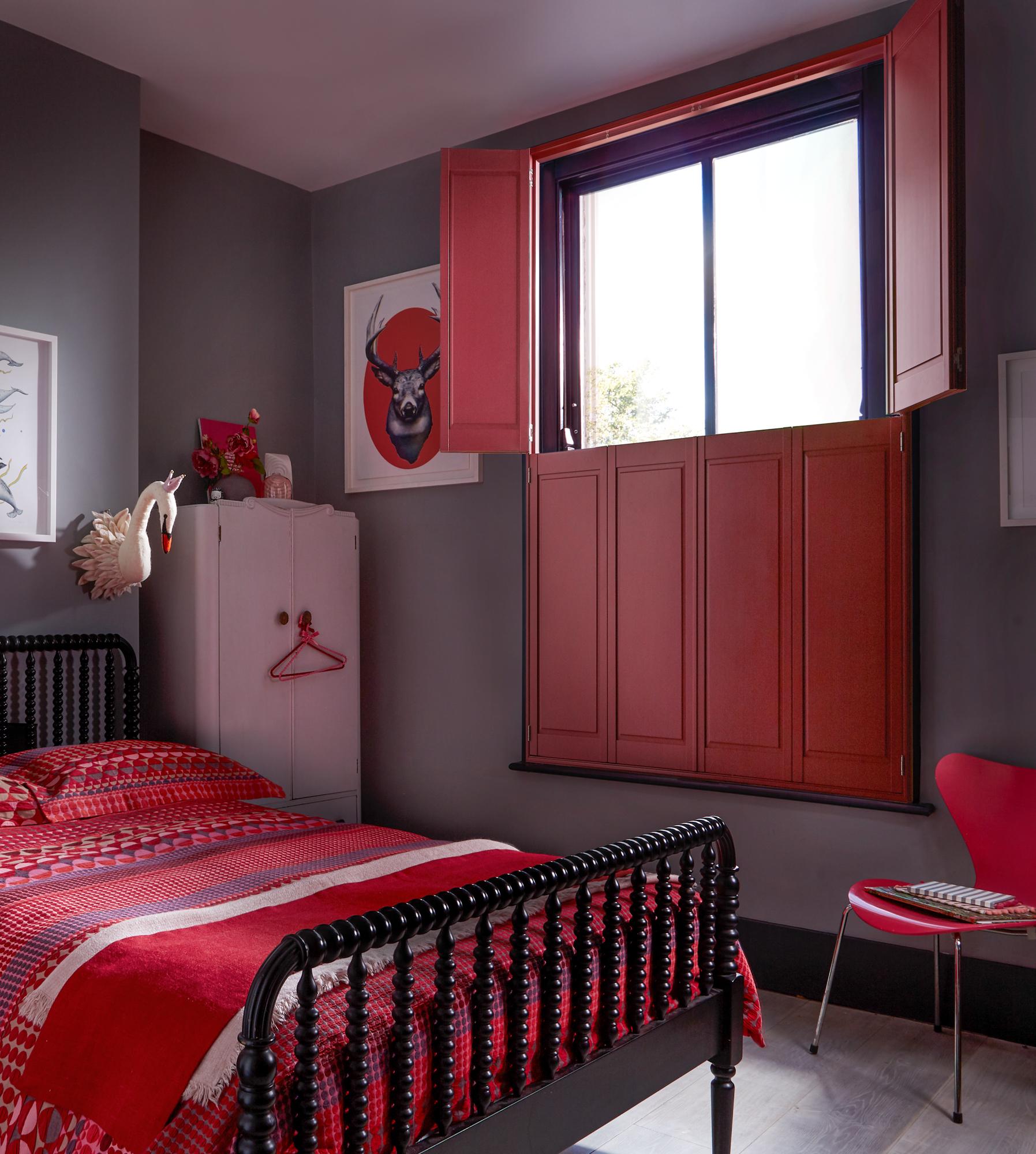 'KINGSTON' Hardwood Solid Shutters in a 'Dulux' Custom colour