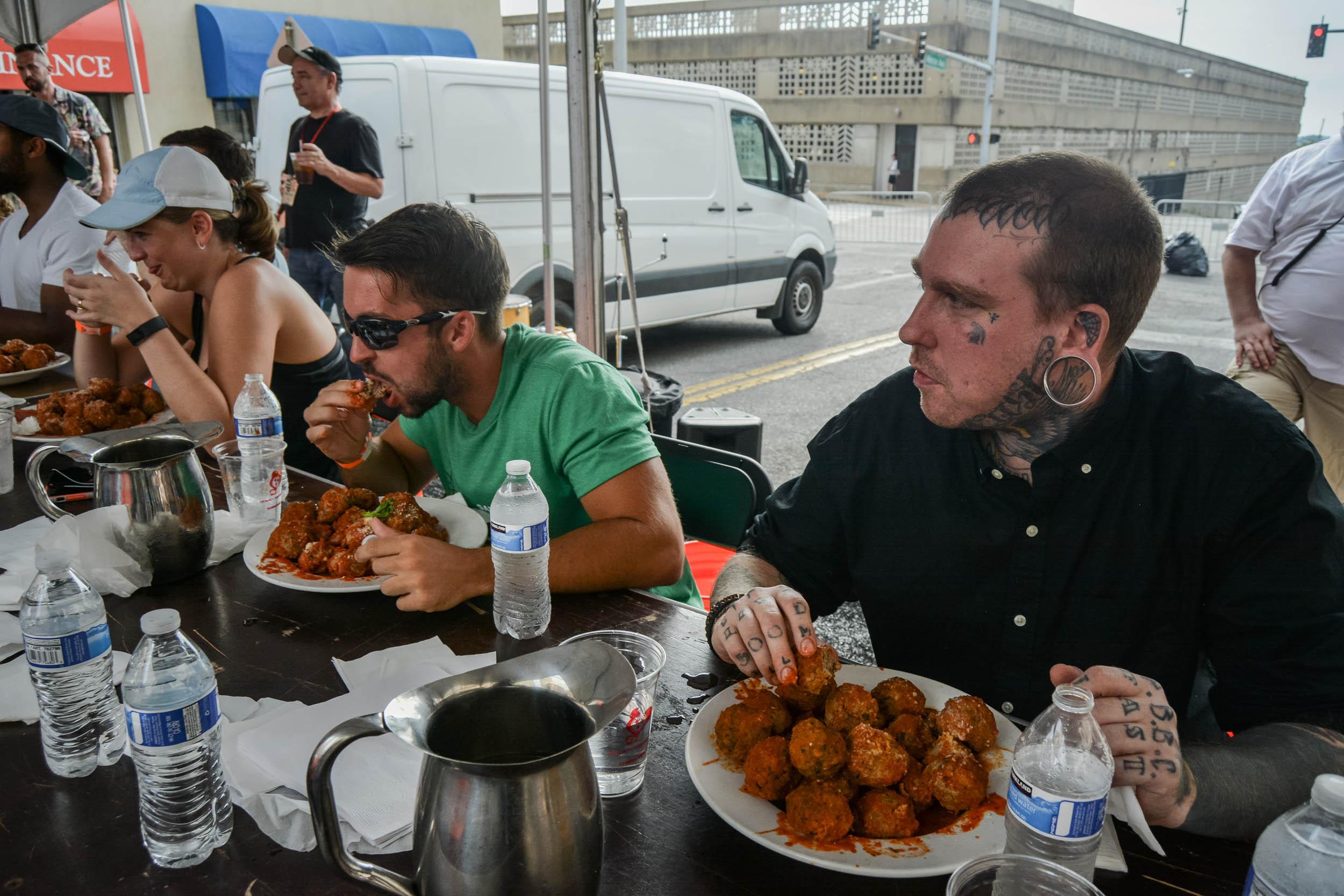 Monroe Avenue Festival Grandmas Meatball Eating Contest0035.jpg