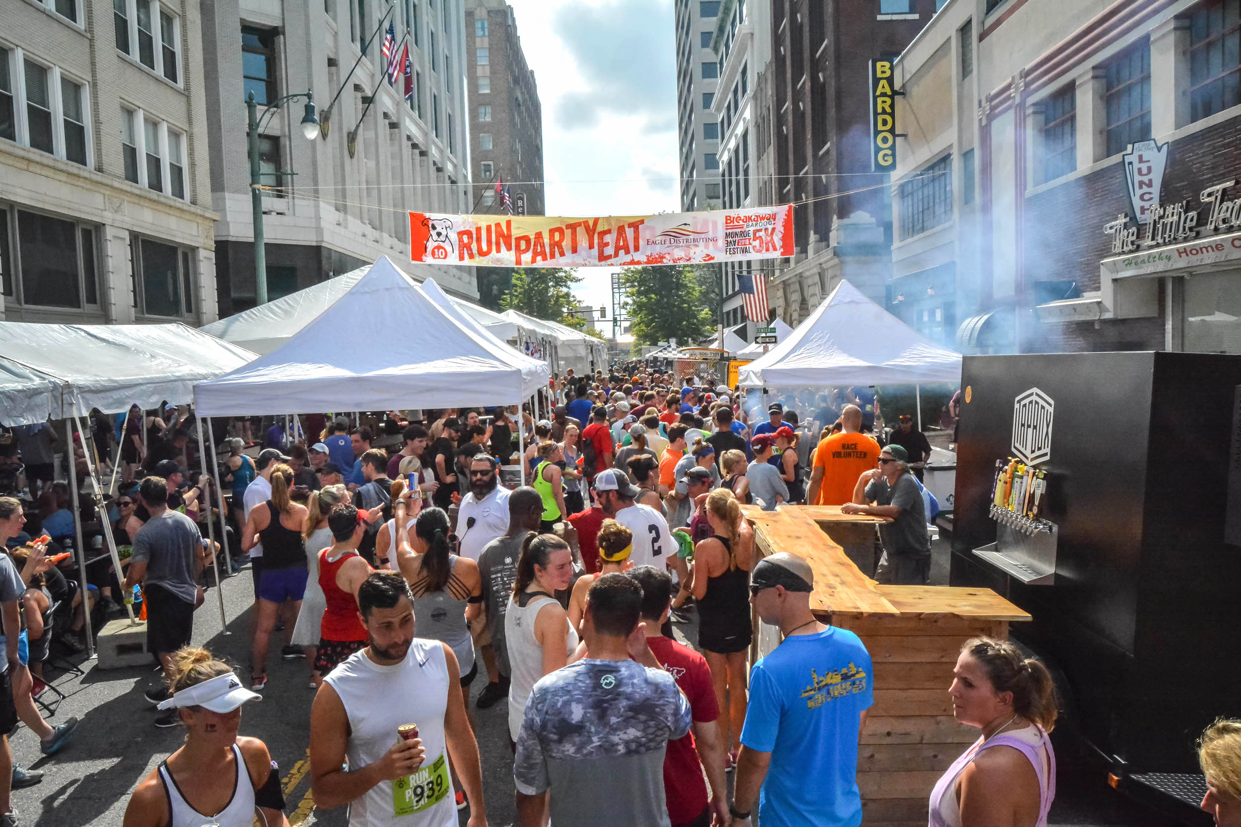 MONROE AVENUE FESTIVAL opens to public - 11:00 aM