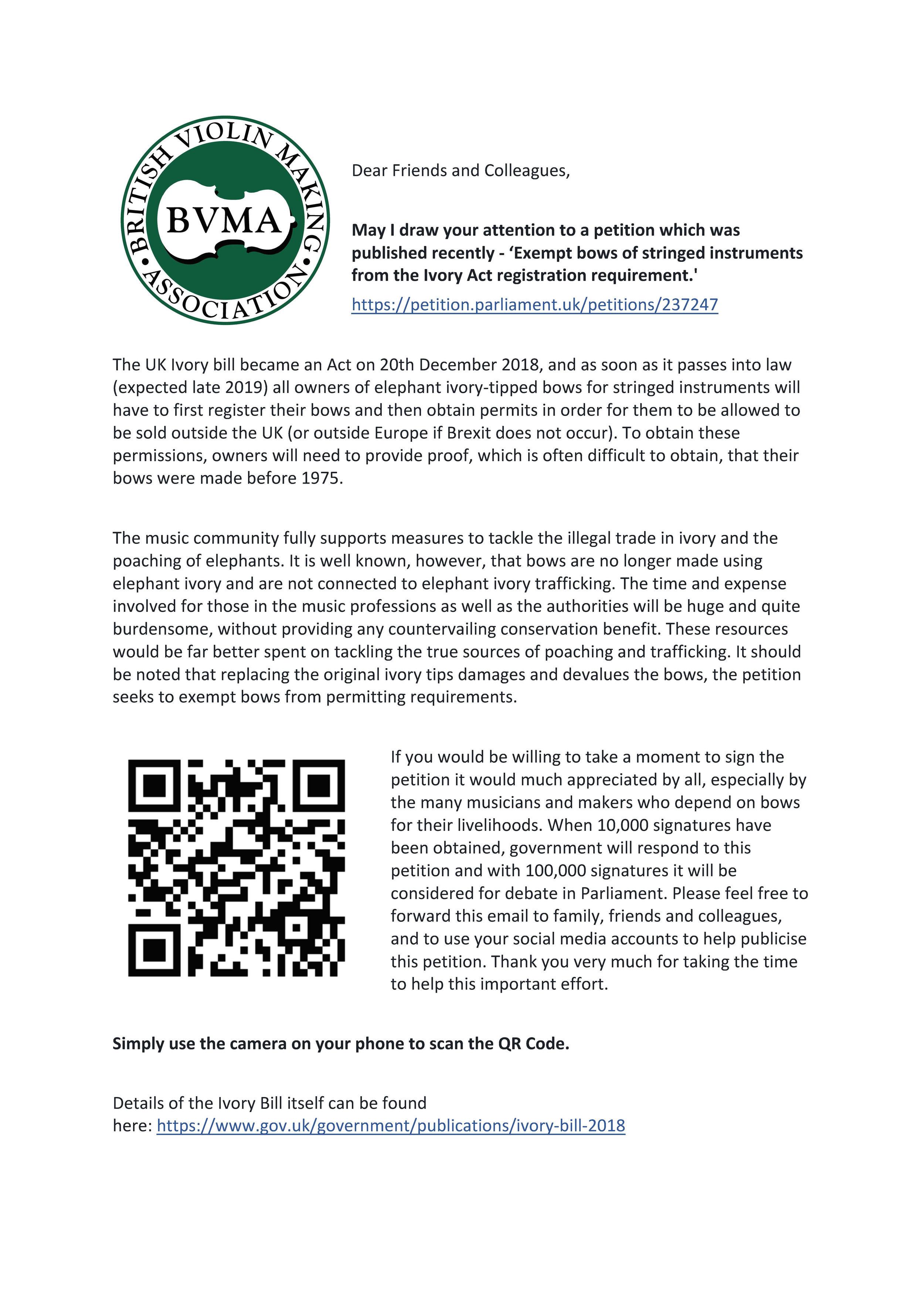BVMA ivory petition QR.jpg