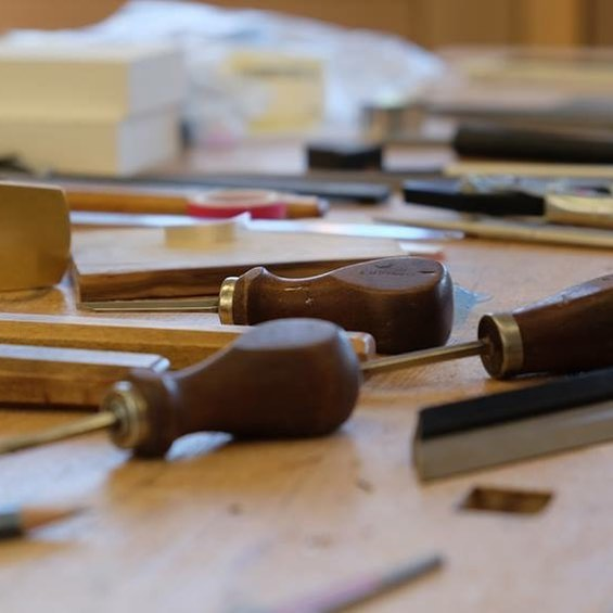 The BVMA Bow Making and Restoration Course at West Dean College 2019. Join us at www.bvma.org.uk