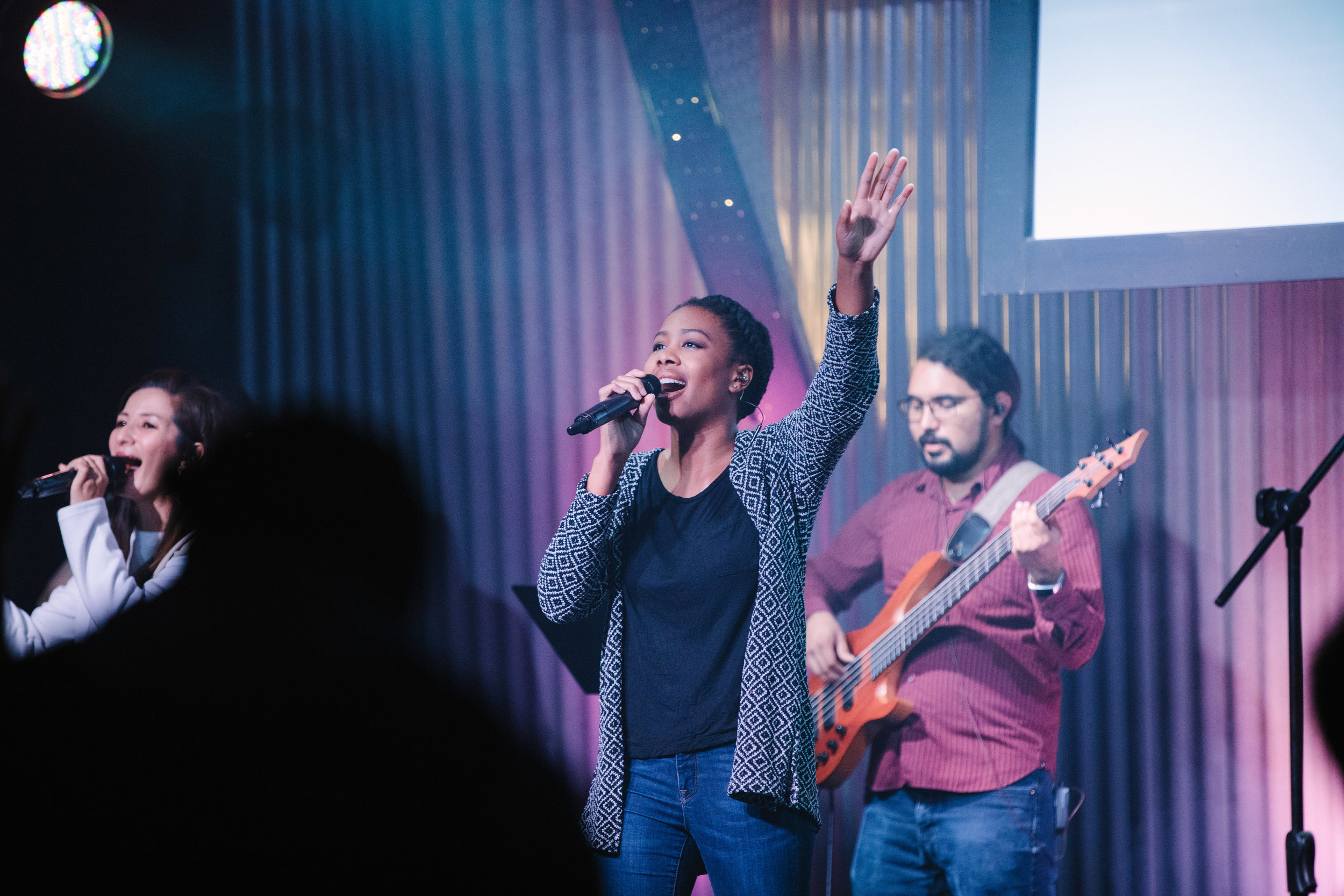 Dynamic Worship - We desire to create an environment where people experience the reality of a living God! Our worship experience is contemporary, Spirit-filled, radical, genuine, and heartfelt to give you that boost for the upcoming week ahead.