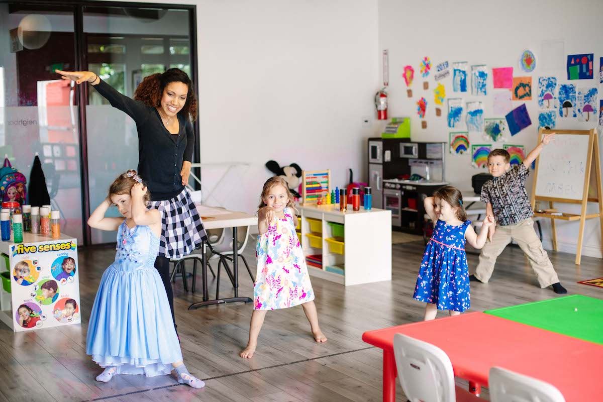 Creative Expression - -Expressing creativity through art and movement-Imaginary play