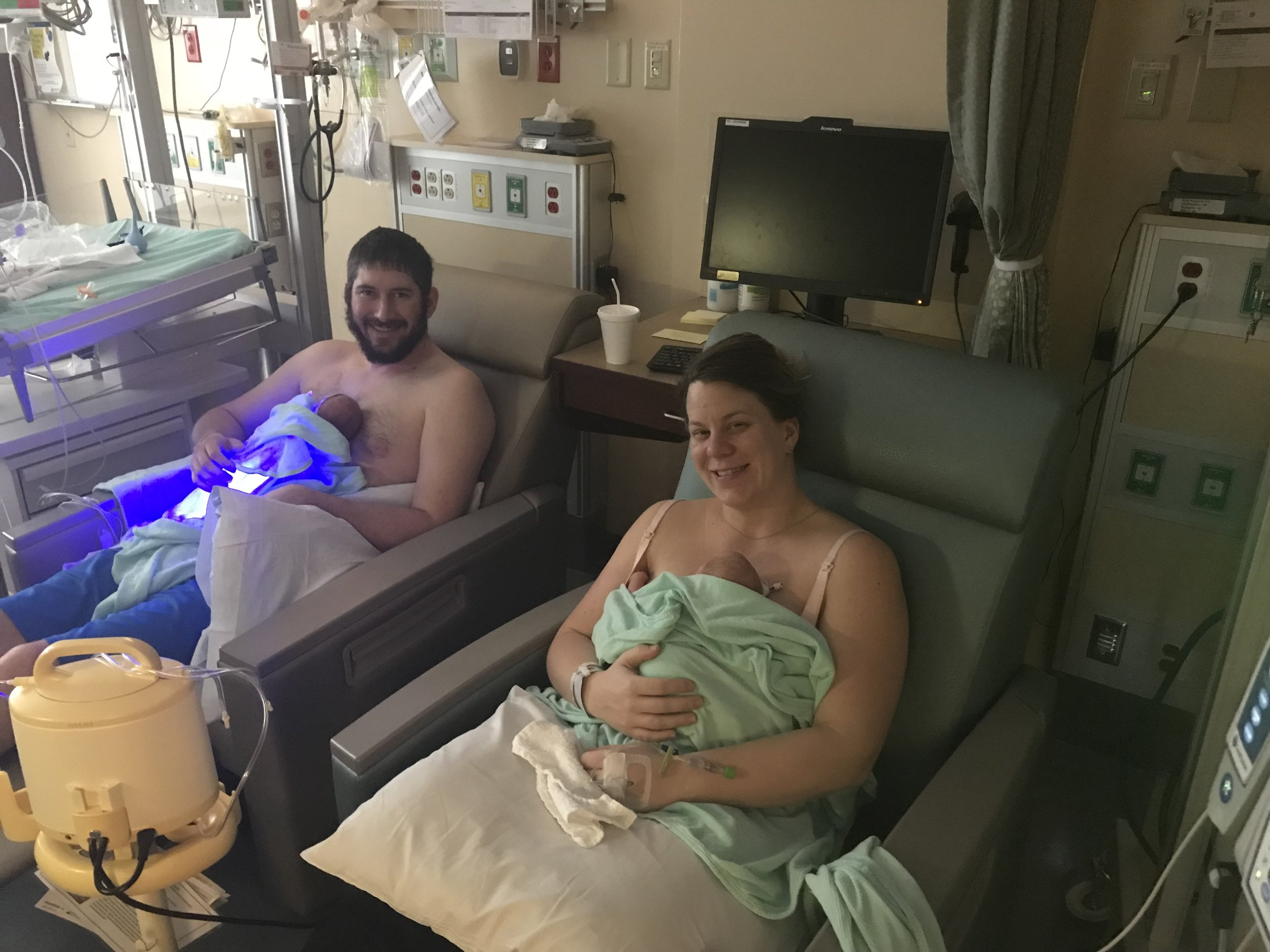 New parents in the NICU