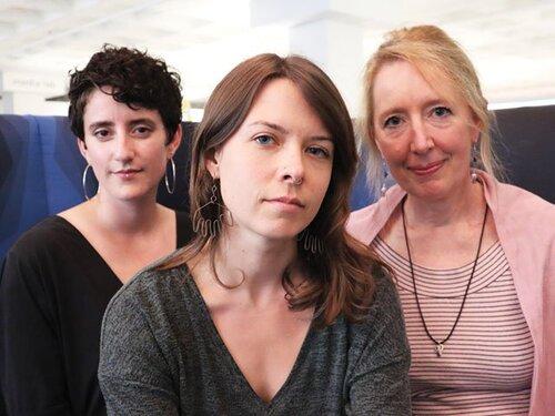 P.O.W.E.R.S. team: Nina Reynolds, Ashley Hartman Annis and Ingrid Andersson