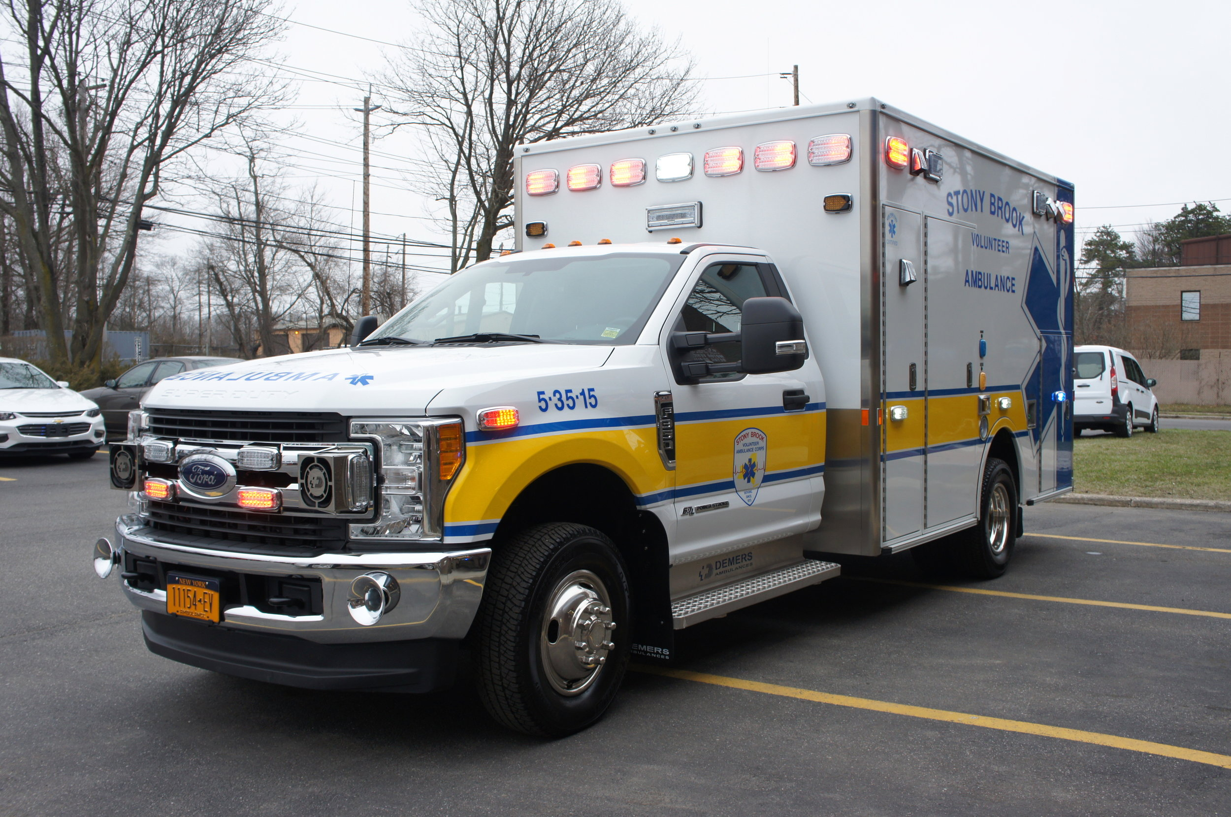 stony brook college ambulance