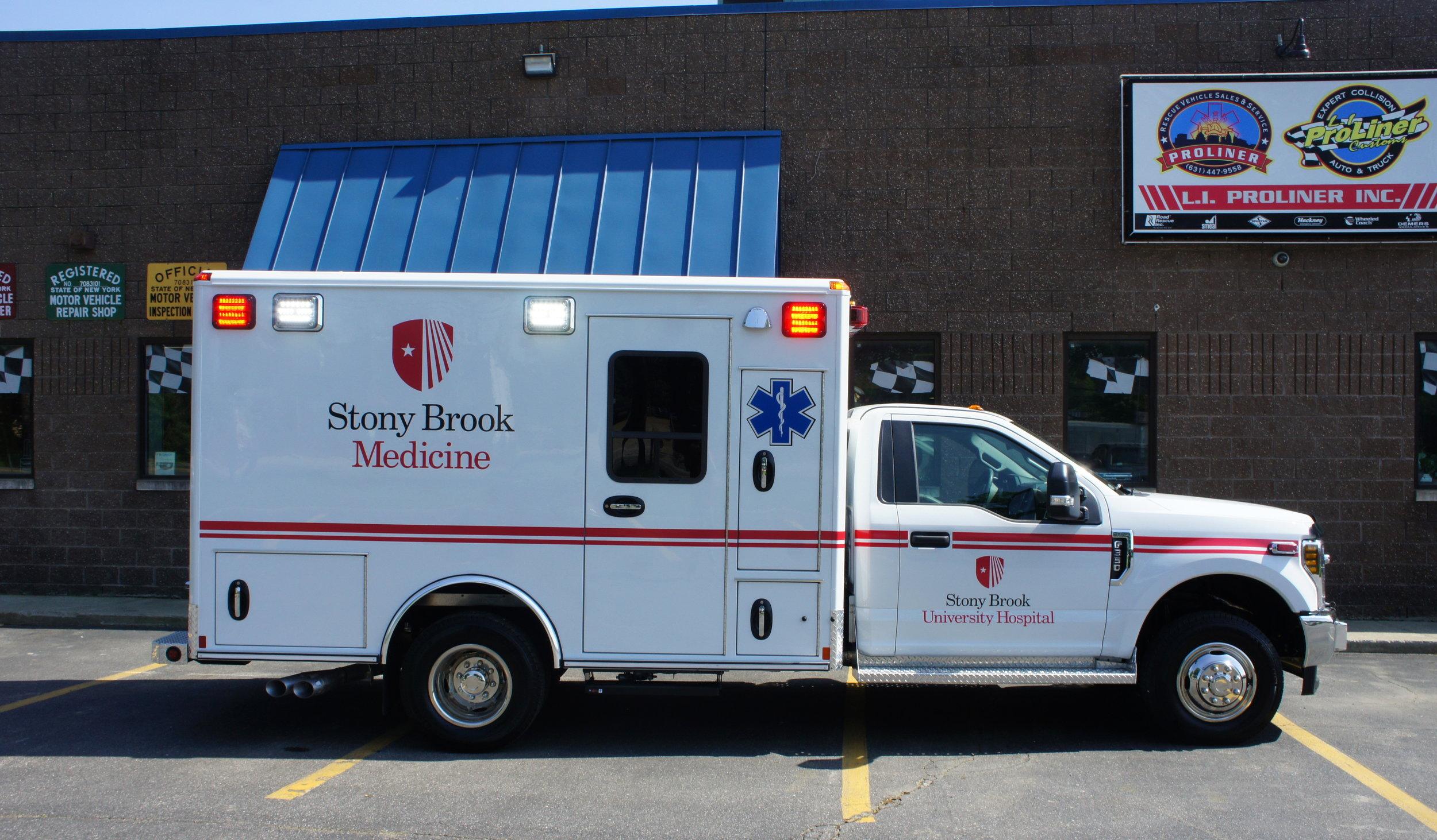 stony brook medicine ambulance