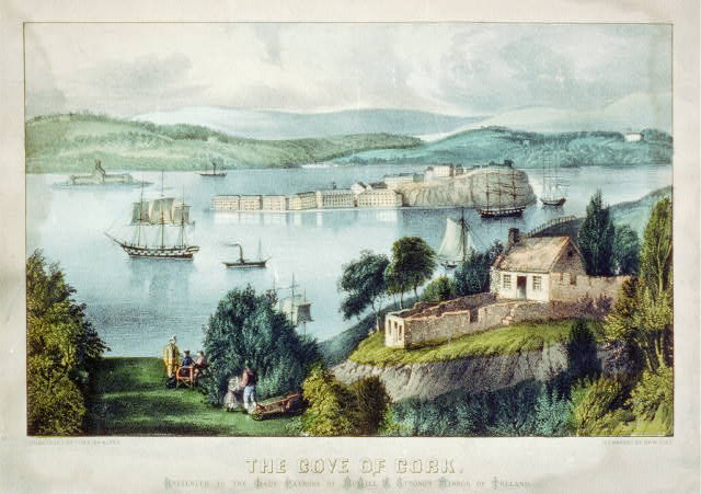 Cove of Cork . Currier and Ives. Lithograph. Library of Congress.