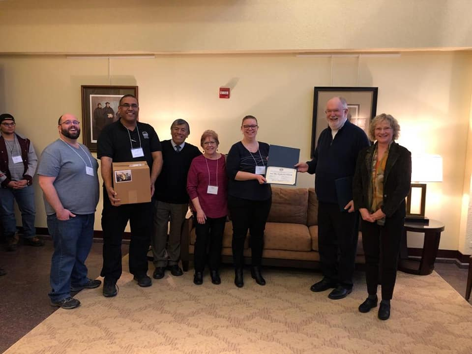 Congratulations to New Day, Idaho Falls. They received a certificate Celebrating and Welcoming them as a Newly Organized Congregation, November 16, 2018.
