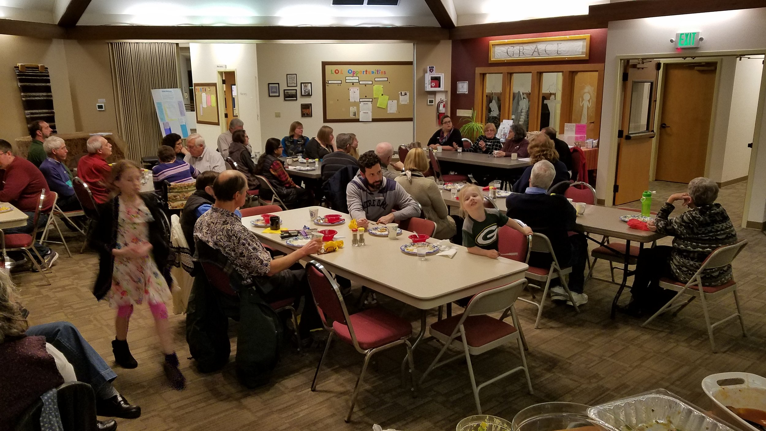 The Interfaith Potluck, Tri-Cities. January 12, 2019
