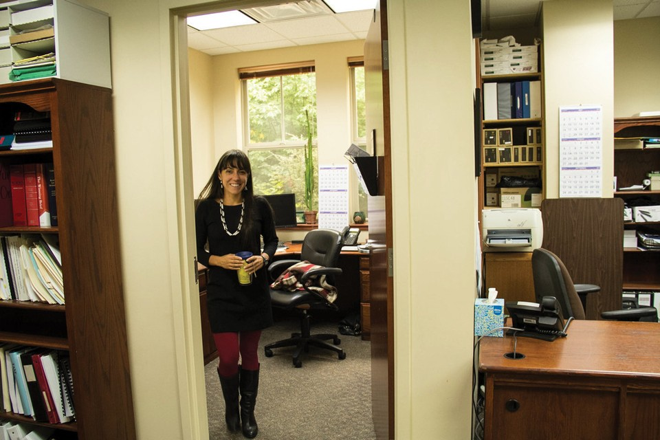 Amy Cordalis, attorney for the Yurok Tribe, is leading the legal fights over Klamath Basin water rights. (Jolene Nenibah Yazzie/For High Country News)