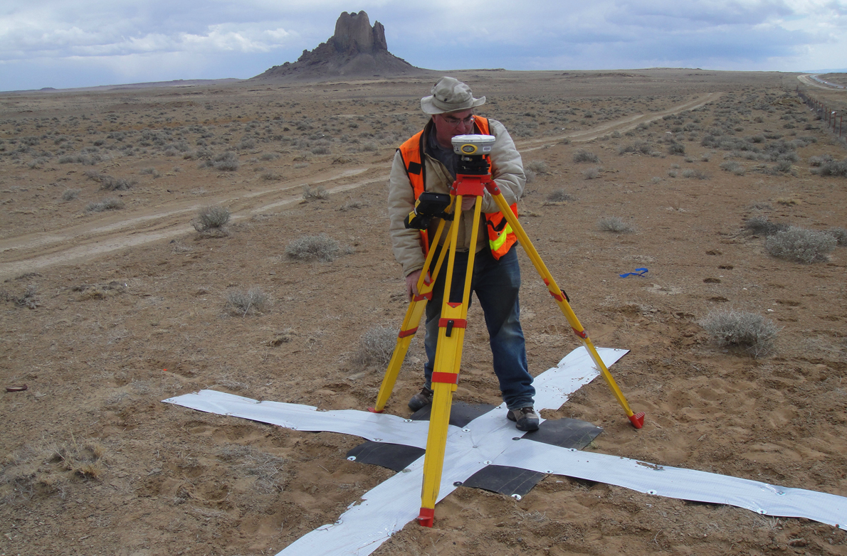 Survey work begins for the Navajo-Gallup Water Supply Project on the Navajo Nation.    U.S. Bureau of Reclamation