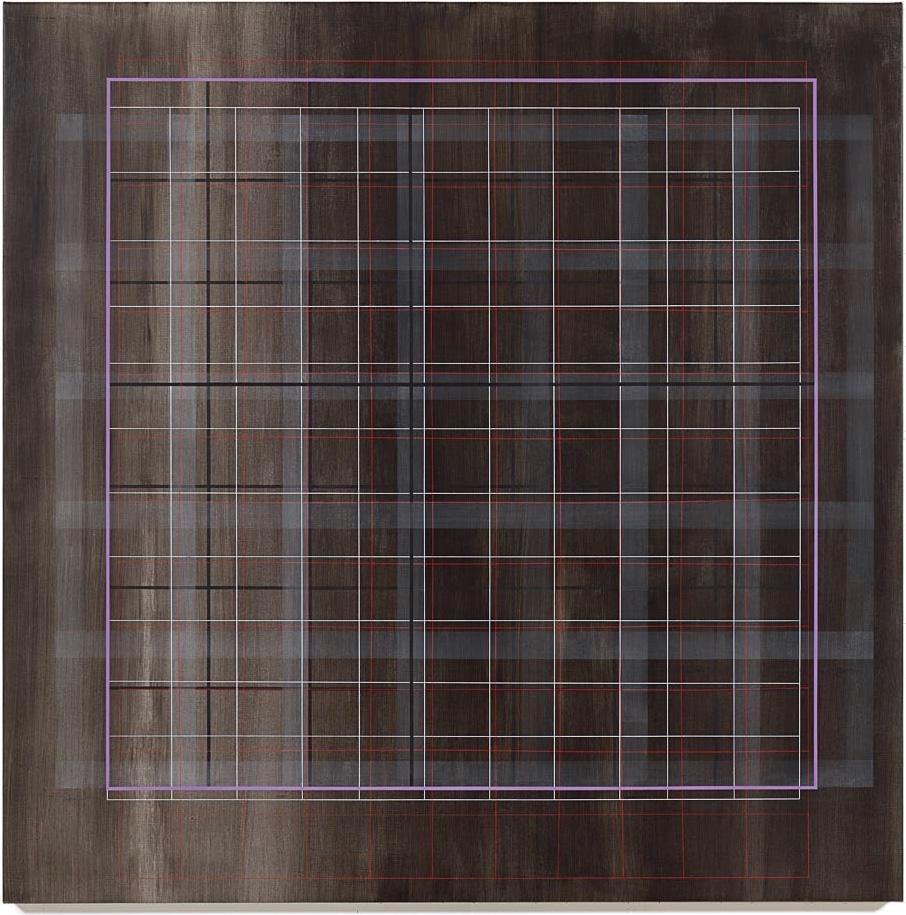Trough Lavender, 2016, 72x72