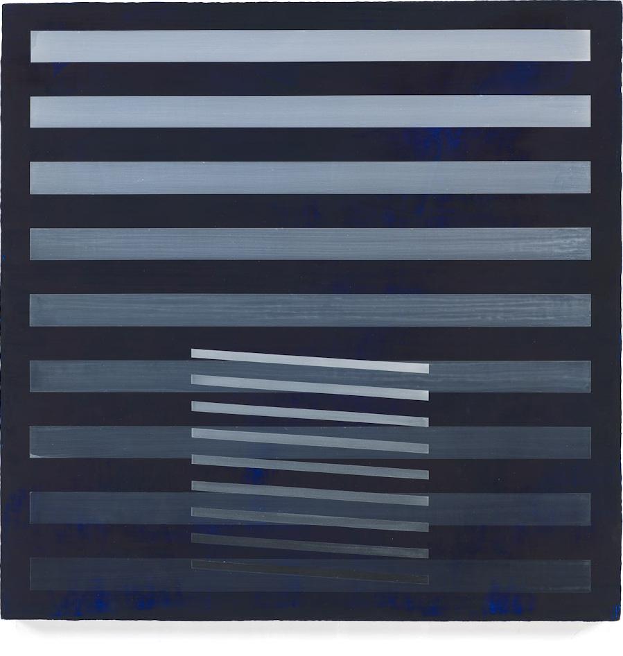 Blue Solitude, 2009, 18x18