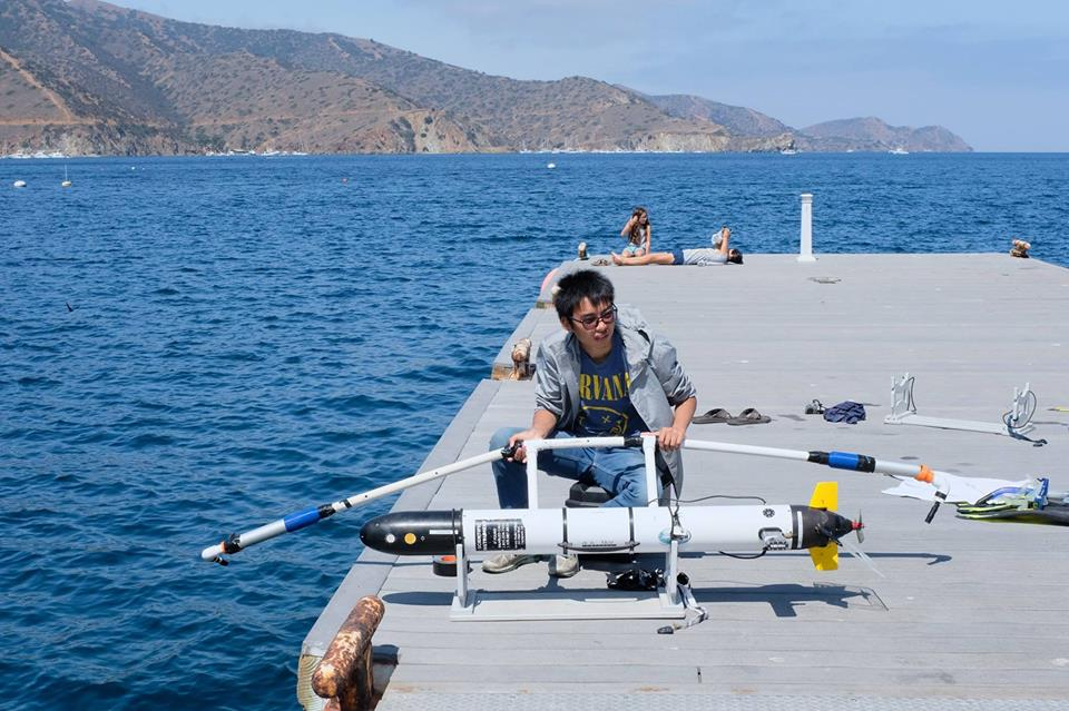 Balancing the AUV's hydrophones prior to deployment