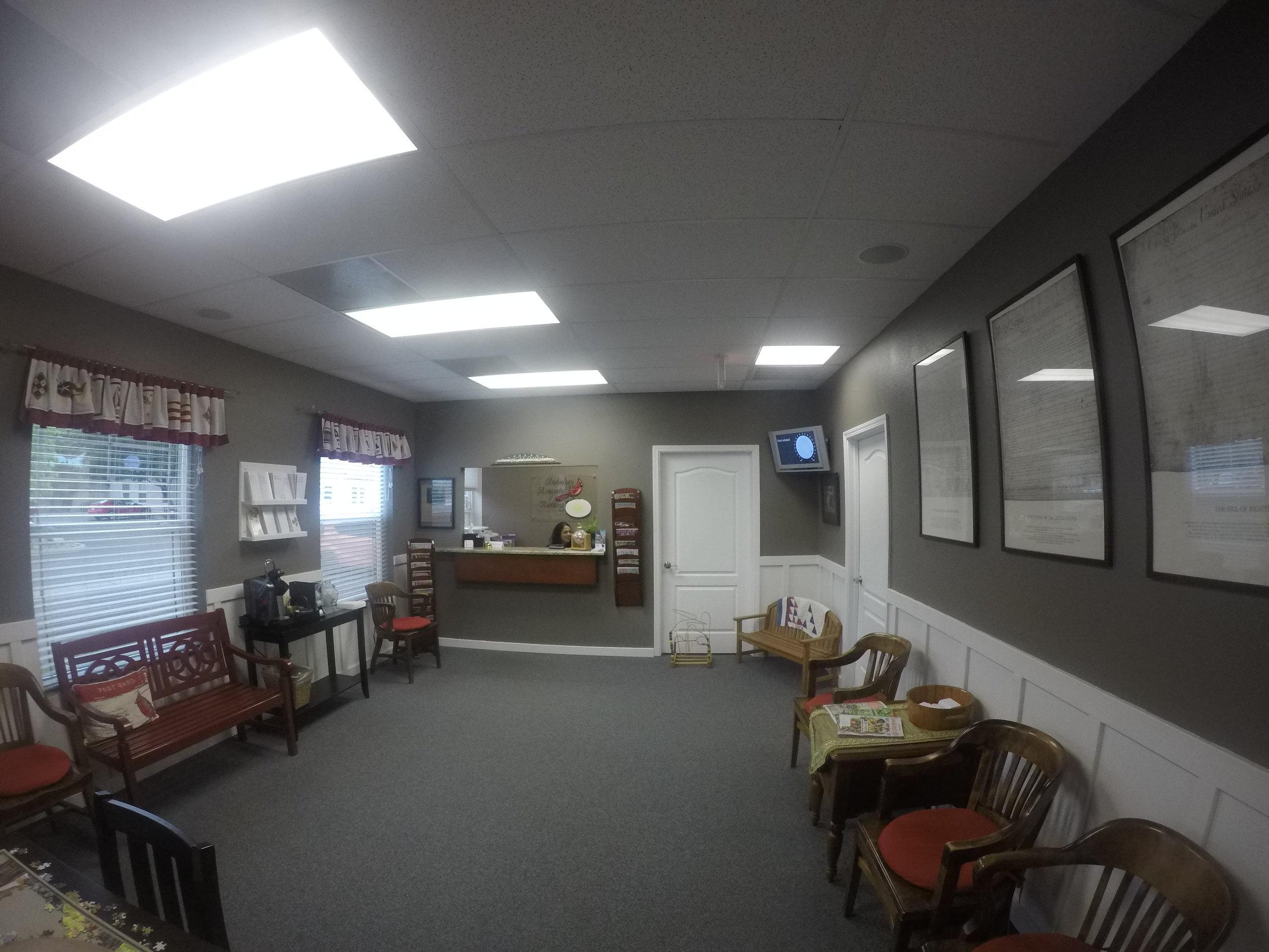 Audiology Associates of Redding waiting room