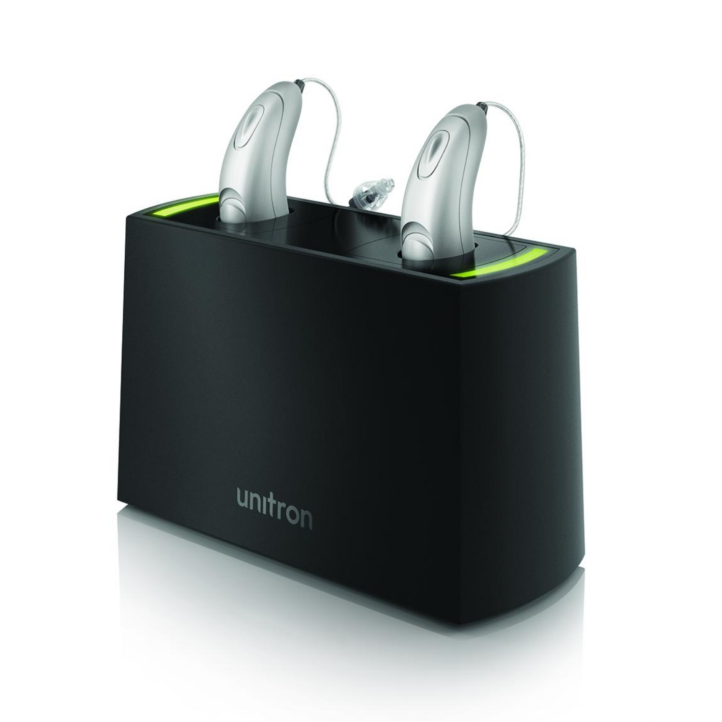 Convenience - Rechargeable hearing aids make it more convenient than ever to enjoy great hearing. Simply place them in the charger overnight and enjoy a full day of better hearing. No more small batteries to fuss with.