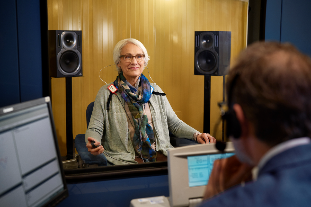 Types of hearing tests -