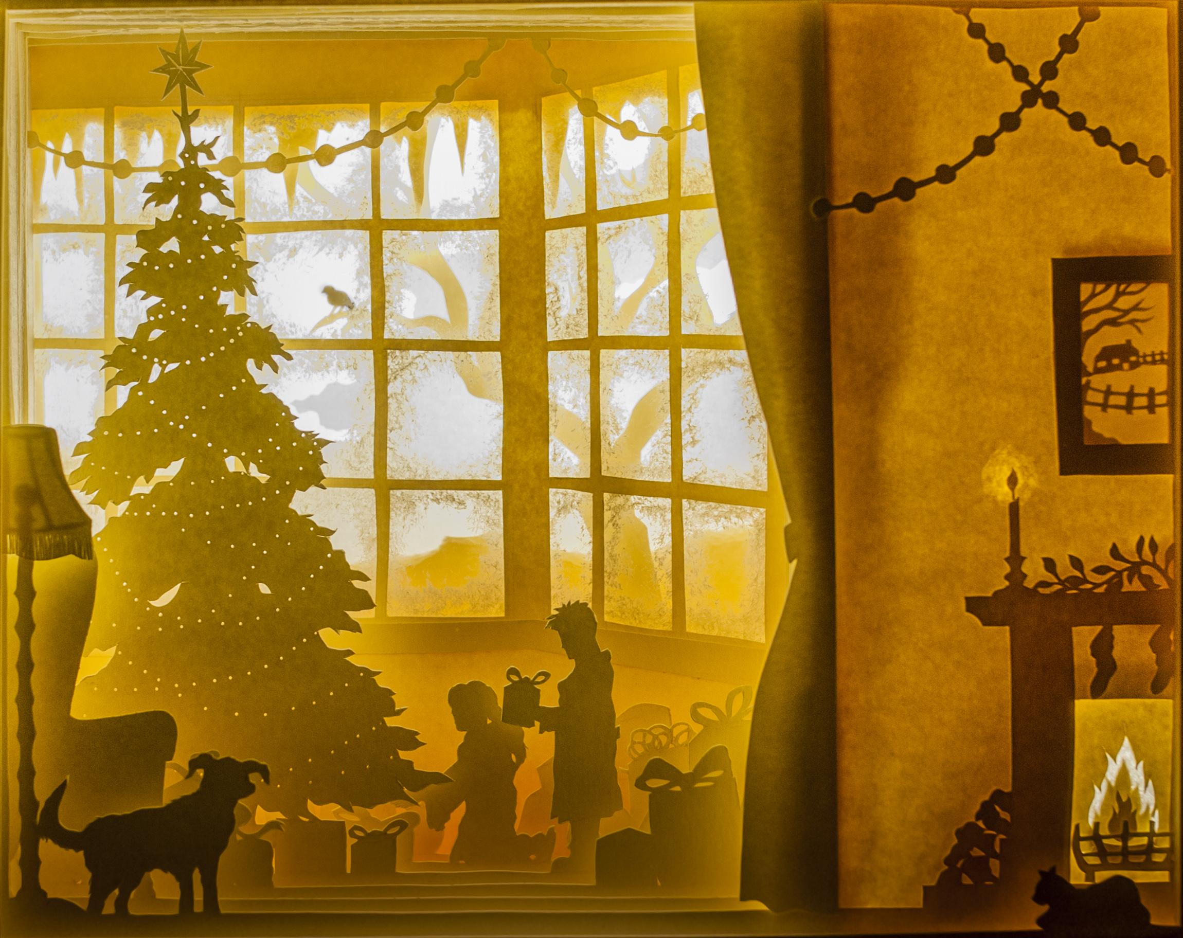 Christmas morning -