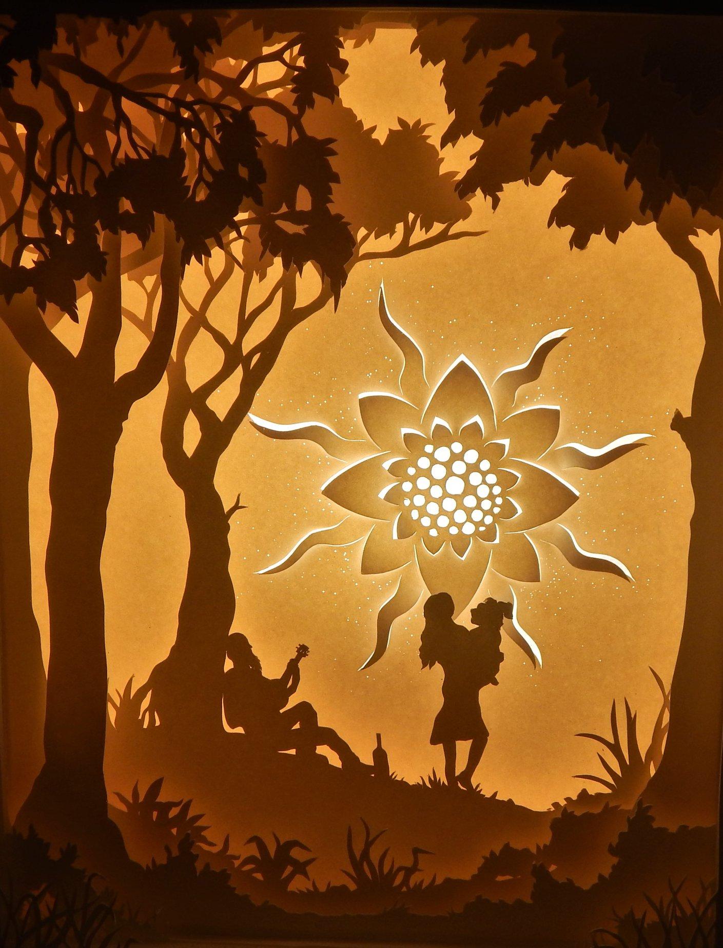 Sun worshipper -