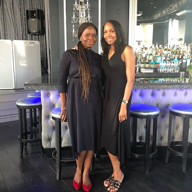 Finally met my beautiful IG friend @saymama in person this week. I love meeting like-minded women entrepreneurs.  She has a kind, warm, embracing aura that I immediately connected to. We bonded and it felt like we'd known each other for years. Look out for her Nigerian brand @oloricosmetics coming to the States soon and to your @cocotique Box! 🥰🥰 #womenentrepreneurs #womensupportingwomen