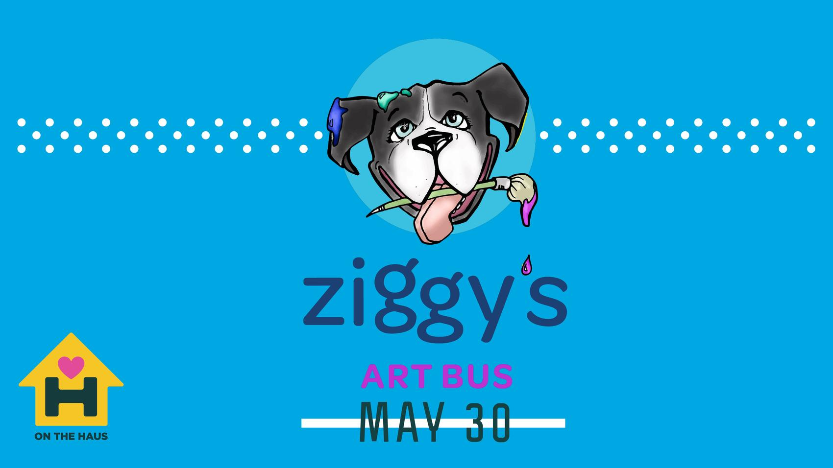 Ziggy's Art Bus at Bauhaus Brew Labs May 30, 2019 5:30-9:00pm