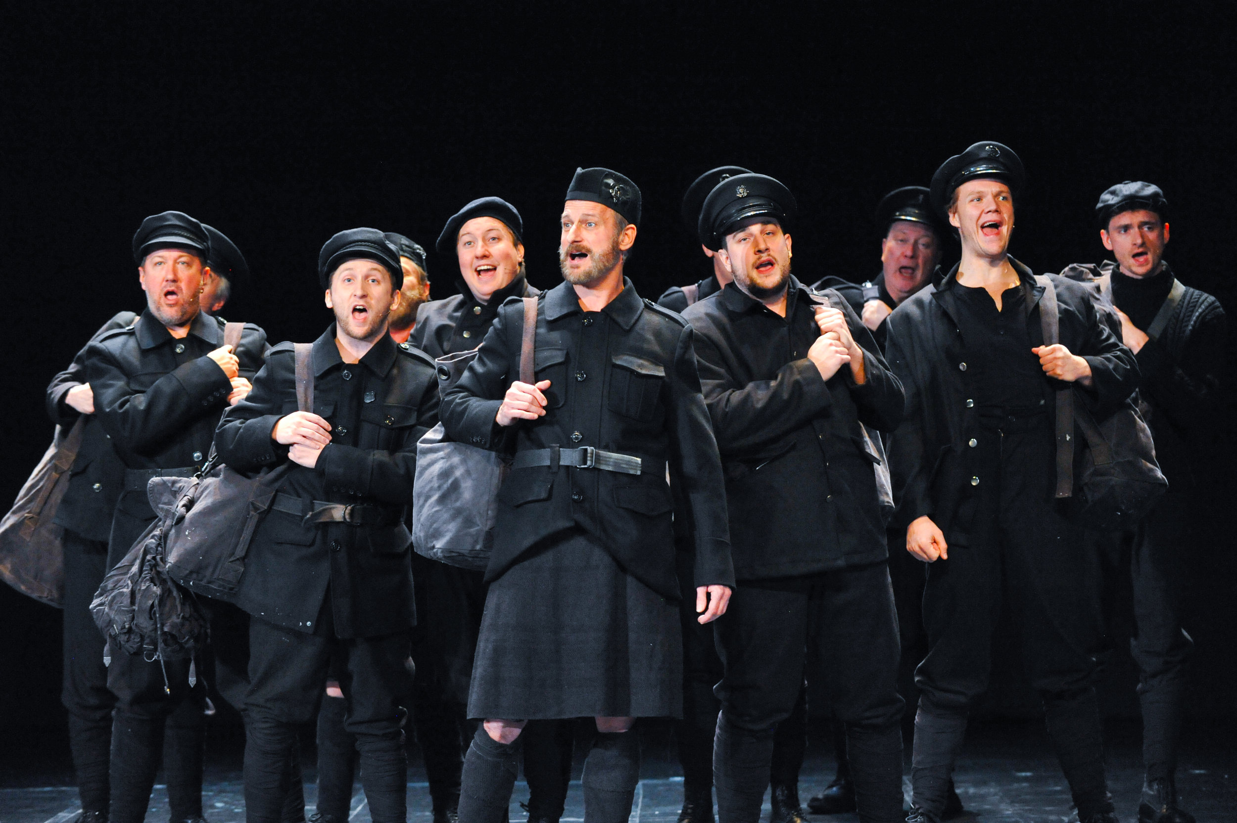 ALL IS CALM: THE CHRISTMAS TRUCE 0F 1914, A co-production of Cantus, Theater Latté Da, and Hennepin Theatre Trust, Pantages Theatre, 2016