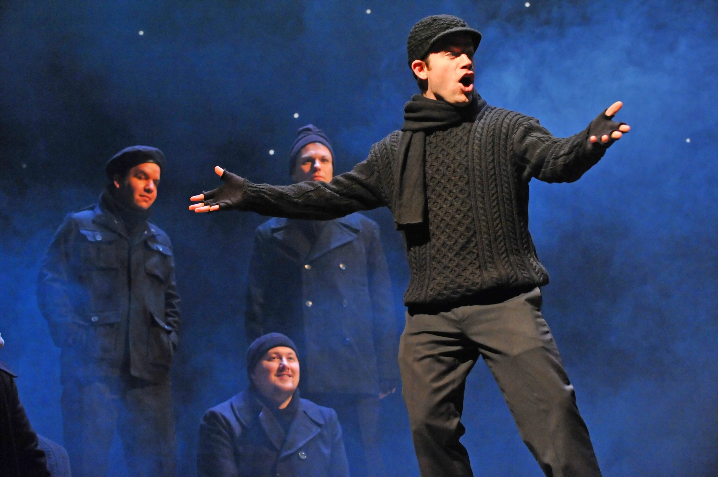 ALL IS CALM: THE CHRISTMAS TRUCE OF 1914, A co-production of Cantus, Theater Latté Da, and Hennepin Theatre Trust at the Pantages Theatre, 2013