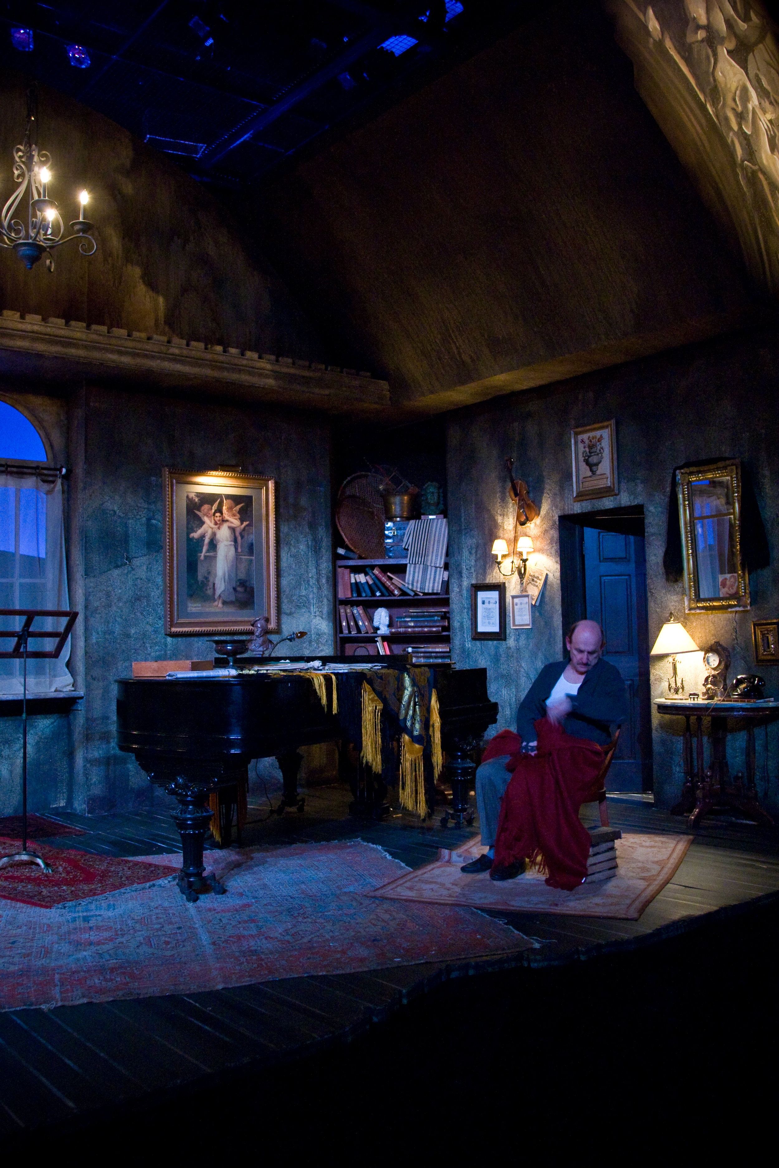 OLD WICKED SONGS, Theater Latté Da at the Guthrie Theater, Dowling Studio, 2008