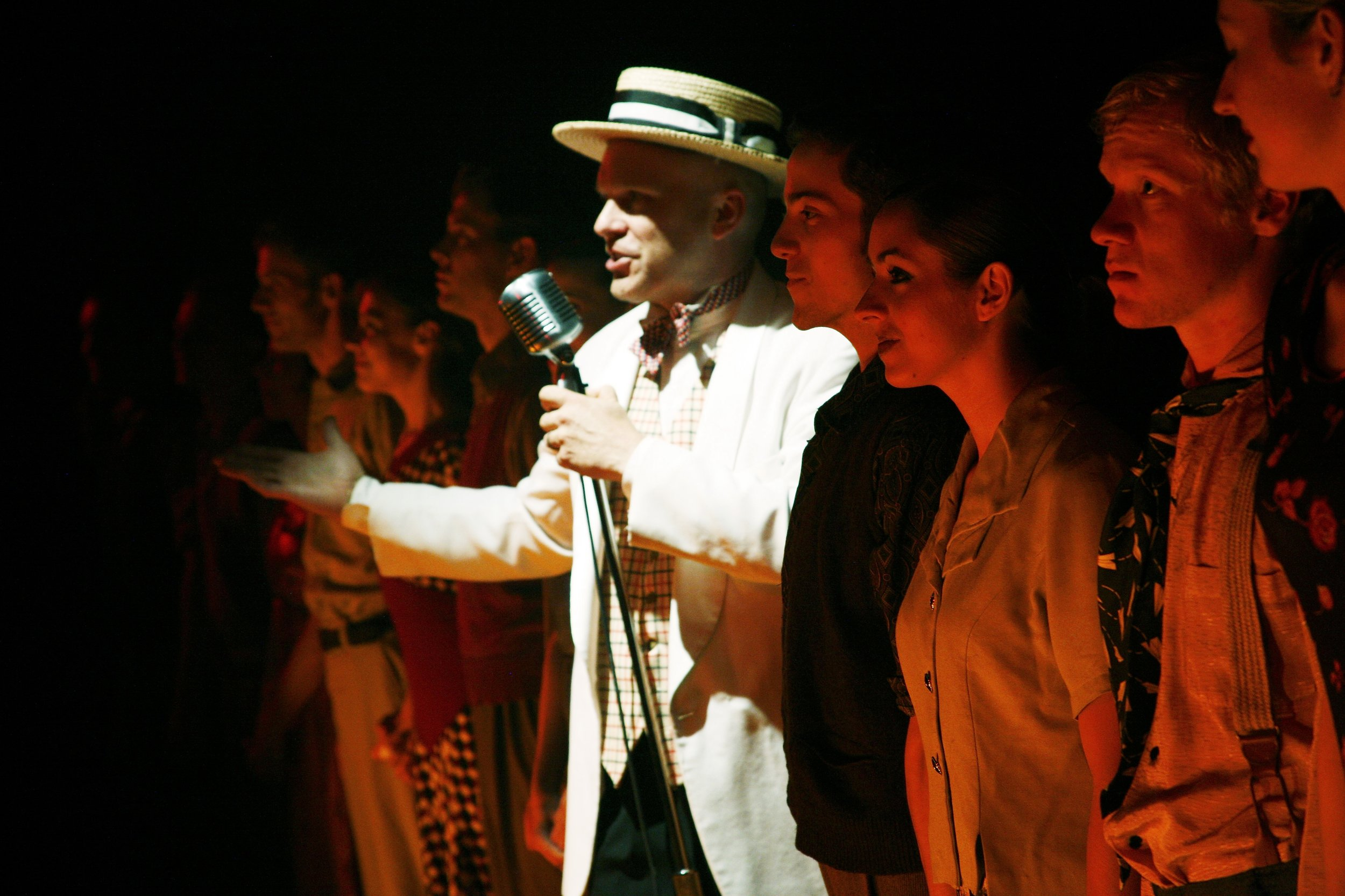 BANKRUPT CITY BALLAD, Theater Latté Da with Arena Dances at the Southern Theater, 2005