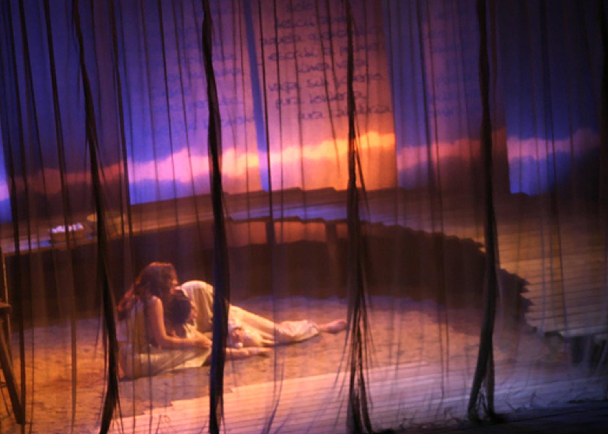 BURNING PATIENCE, Theater Latté Da at the Loring Playhouse, 2003