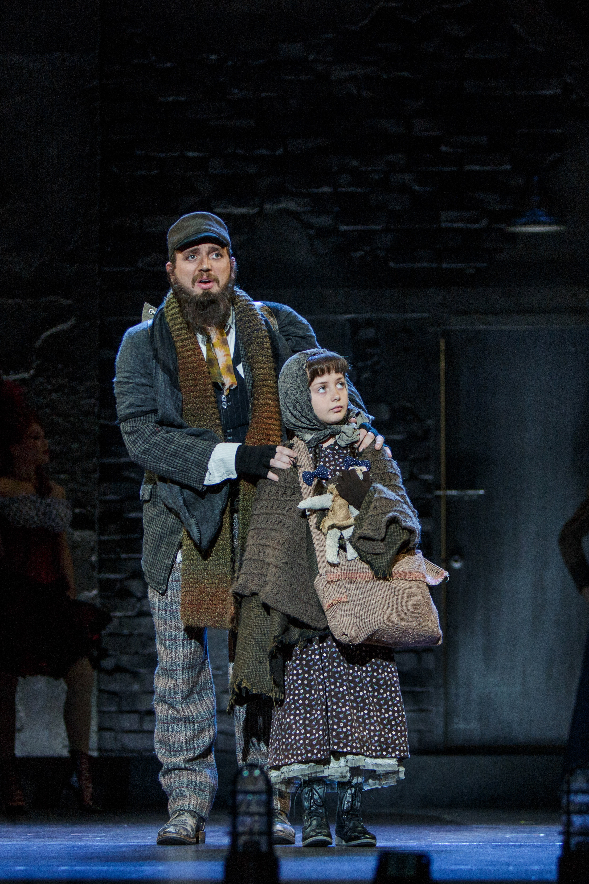 Joshua Carter as Tateh and Tatum Poirrier as The Little Girl in Ragtime - Photo Credit Tracy Martin.jpg