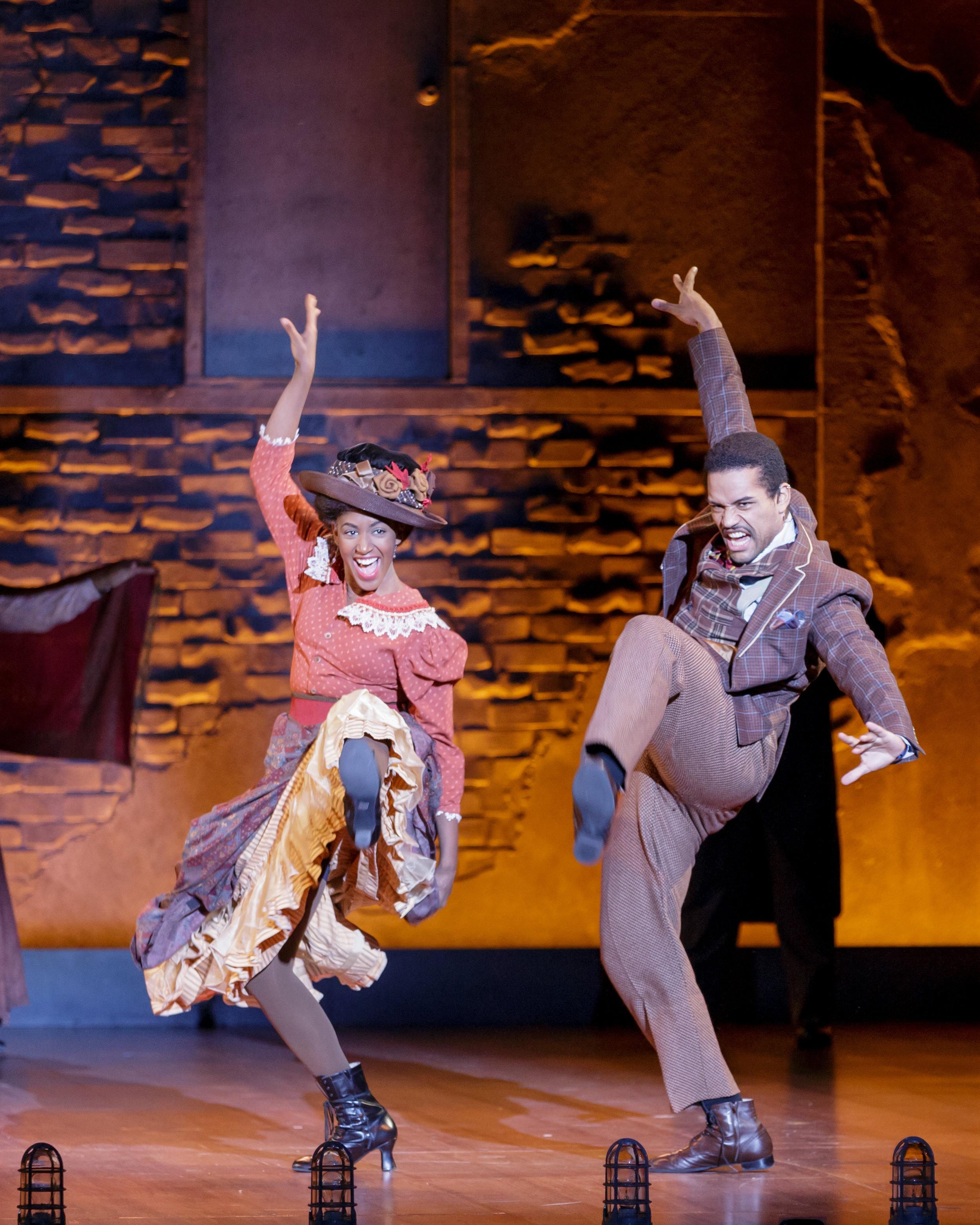 Lauren Du Pree as Harlem Woman and Richard Peacock as Harlem Man in Ragtime - Photo Credit Mark Kitaoka.jpg