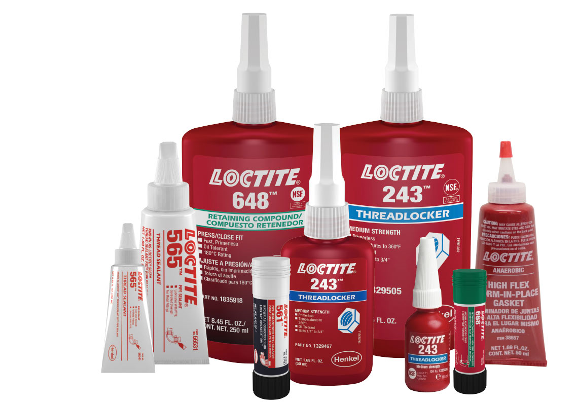 Maintenance & Repair - AdhesivesSealantsRTVLubricantsAnti-Seize3M, Loctite, & Devcon Products