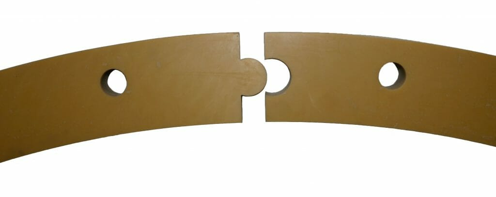 Dovetailed Gaskets