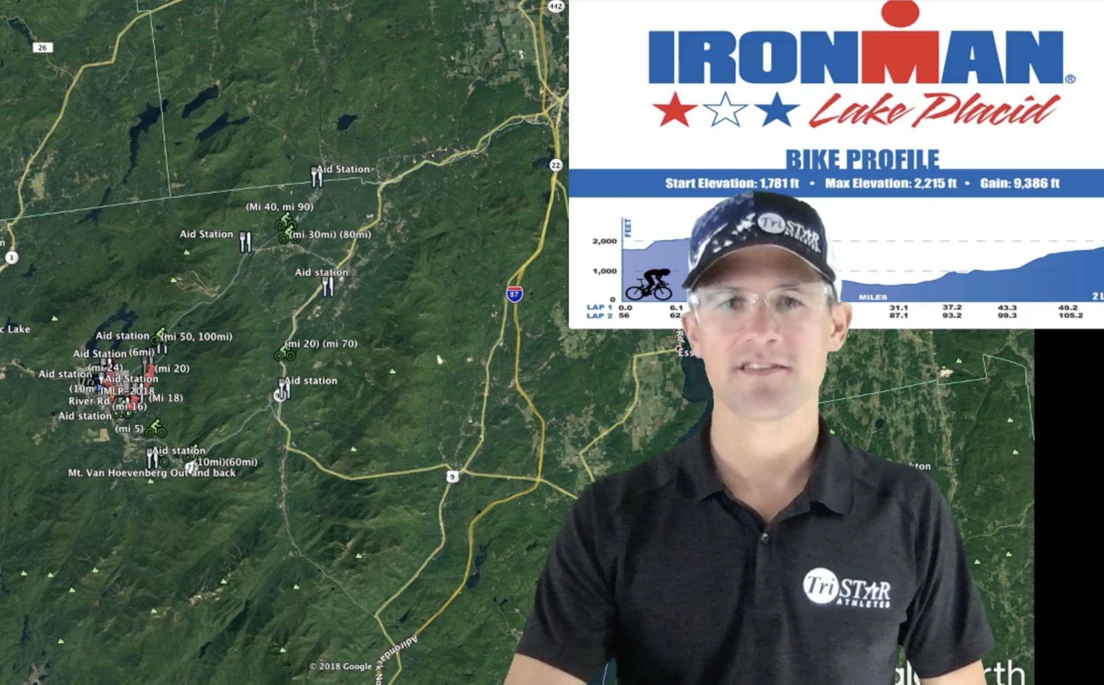Coach Cliff's course overview of Ironman Lake Placid - Coach Cliff, TSA Level III Coach