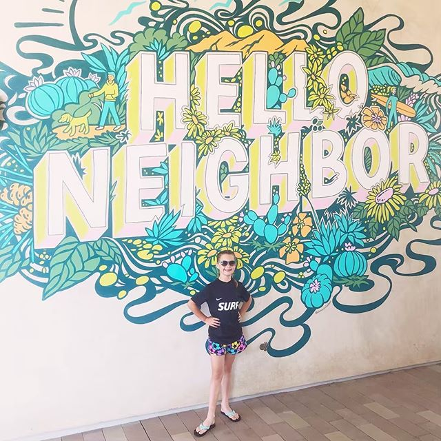 Hi, neighbors!