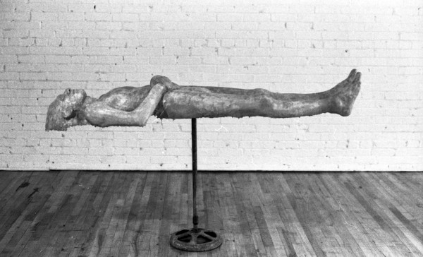 Topografia body casting with sheets, 1972