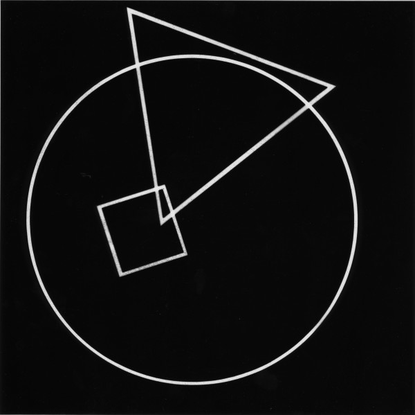 Circle Square Triangle photograms, 1974