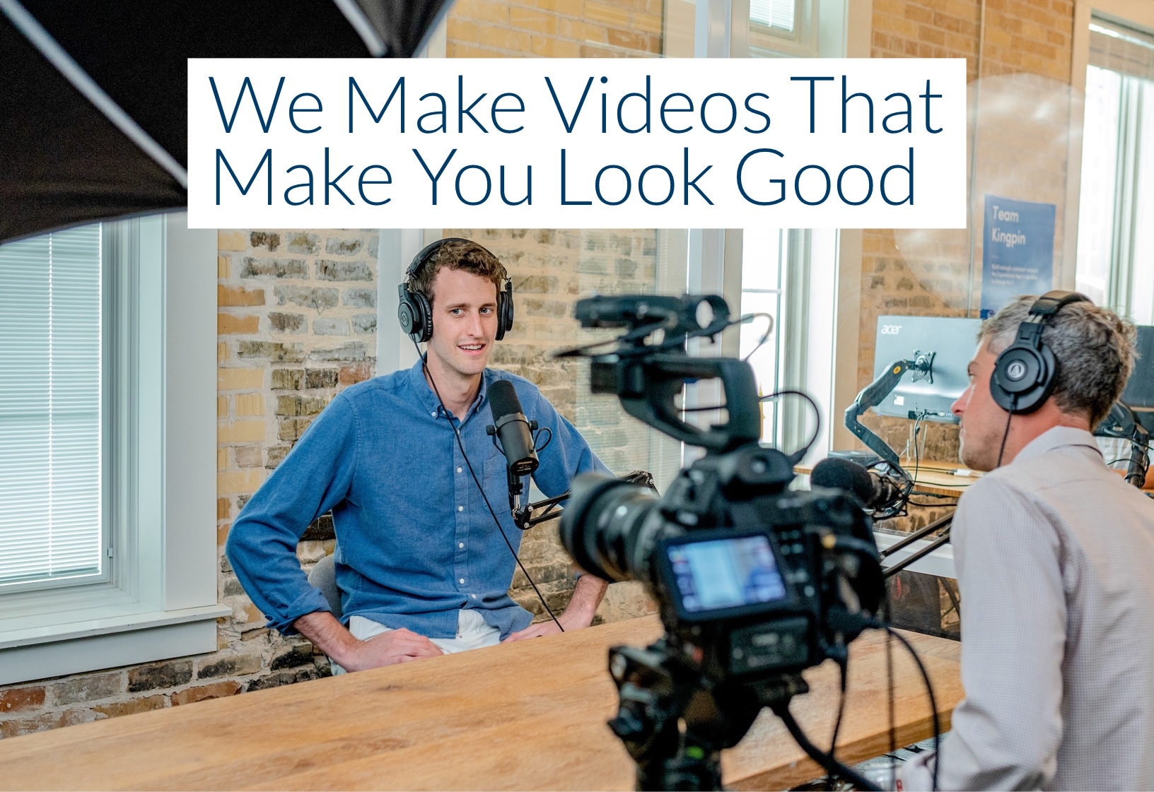 We make videos that sell. Our staff is knowledgeable about how to make a video that can gain your business traction.