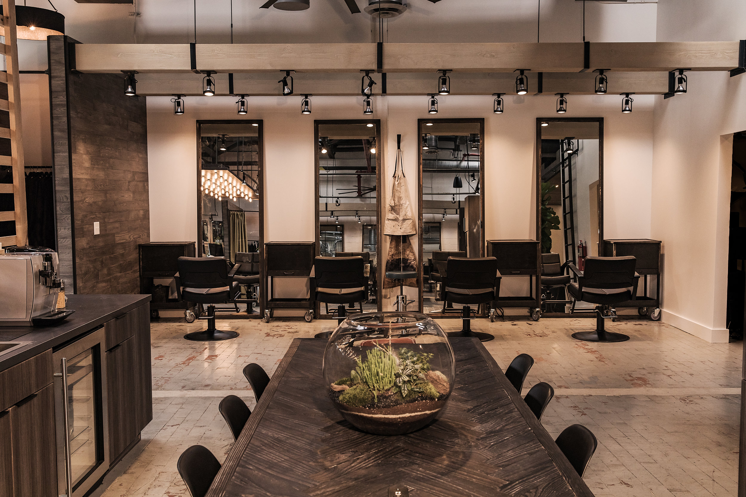 About our space - Salon Vagabond is the perfect space for stylist classes, workshops or meetings.