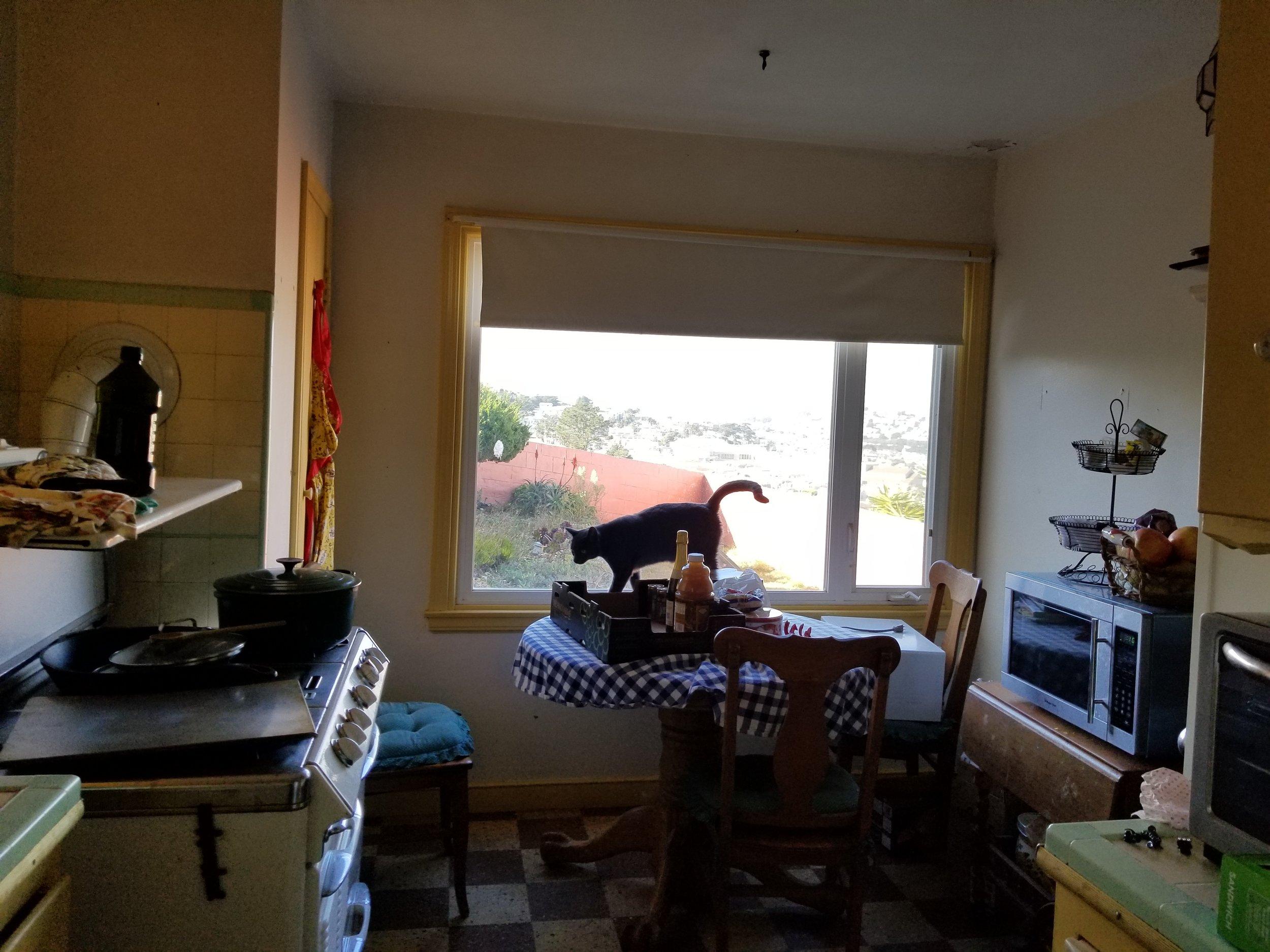 kitchenette before