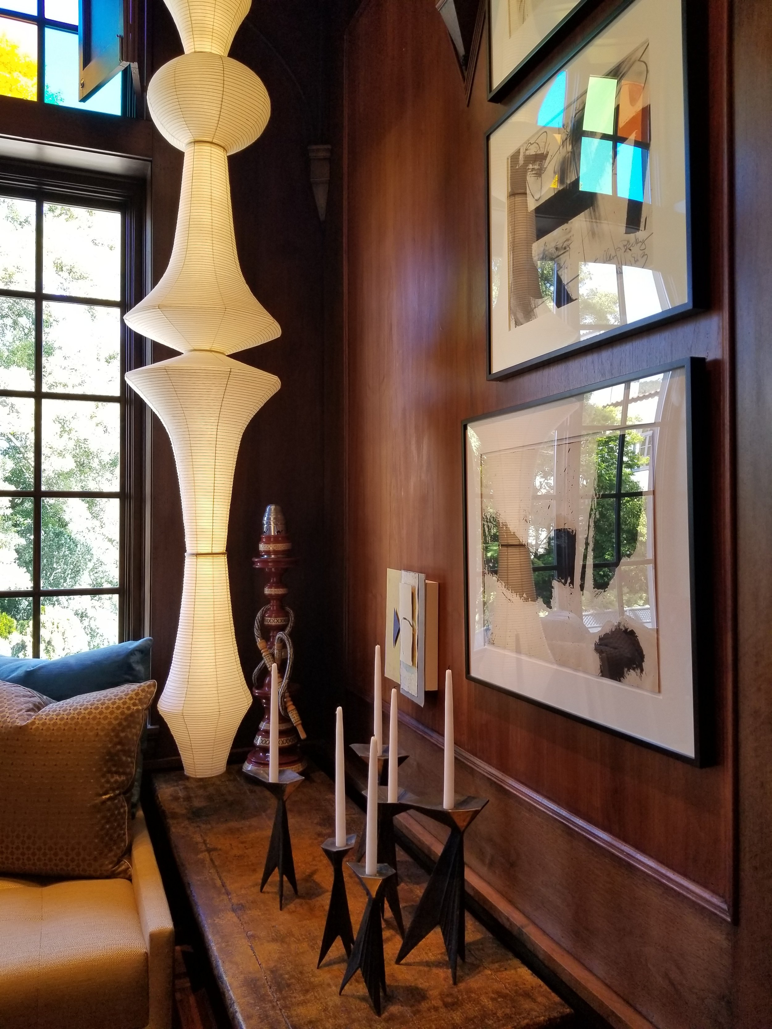 A quiet hookah corner in the Wiseman Group's Haute Hideaway.