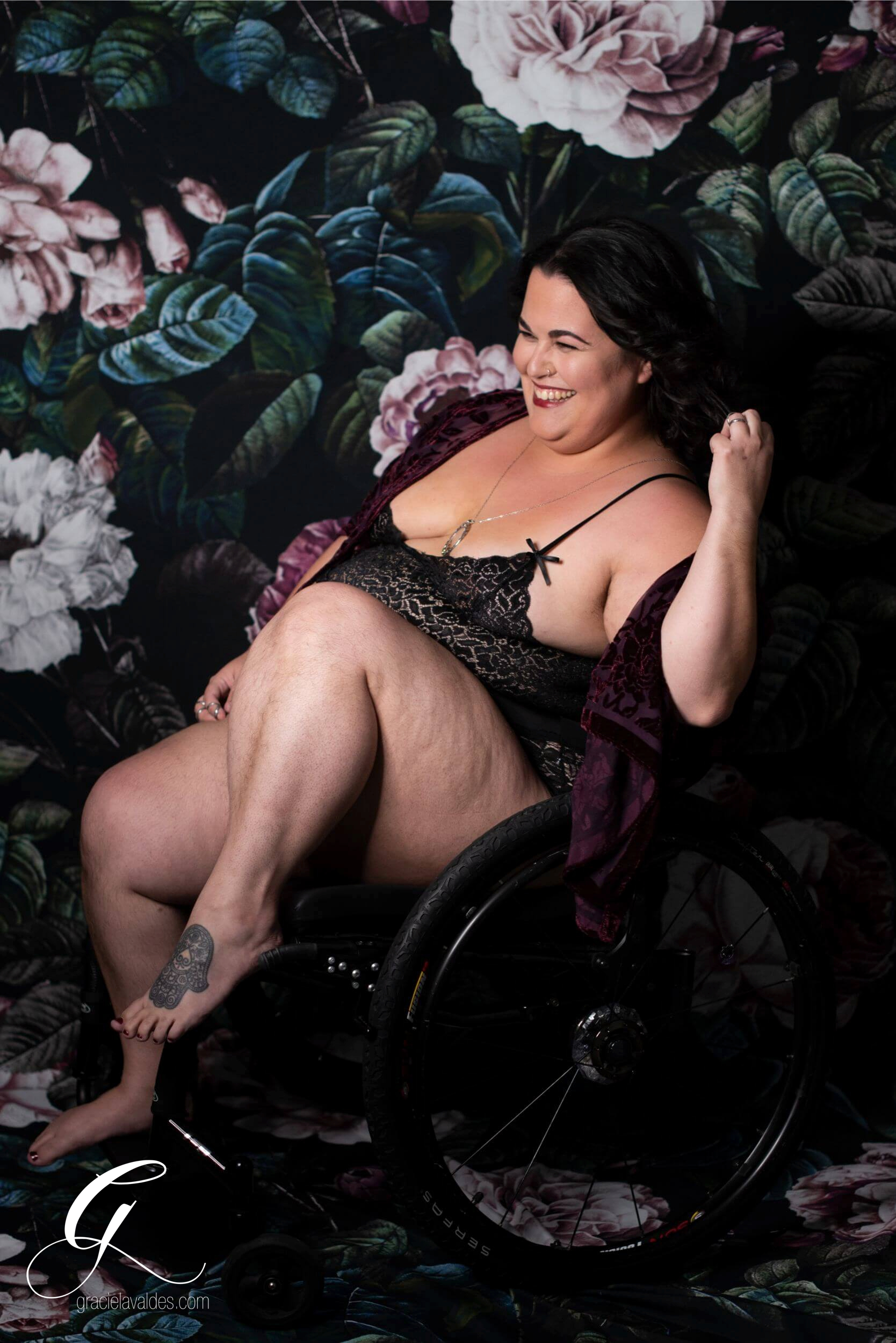 Genderqueer Boudoir Disabled Boudoir by Graciela Valdes 1.jpg