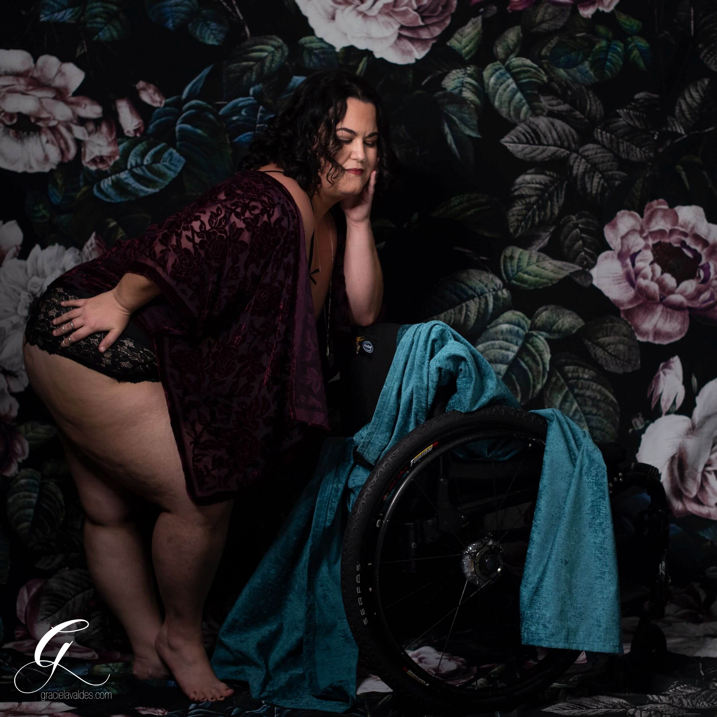 Genderqueer Boudoir Disabled Boudoir by Graciela Valdes 4.jpg