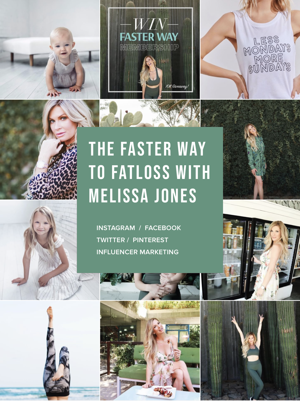 The FASTer Way to Fat Loss with Melissa Jones - Instagram: @meliss.jonesTwitter: @meliss_jonesFacebook: FWTFL with MelissaPinterest: Melissa Jones