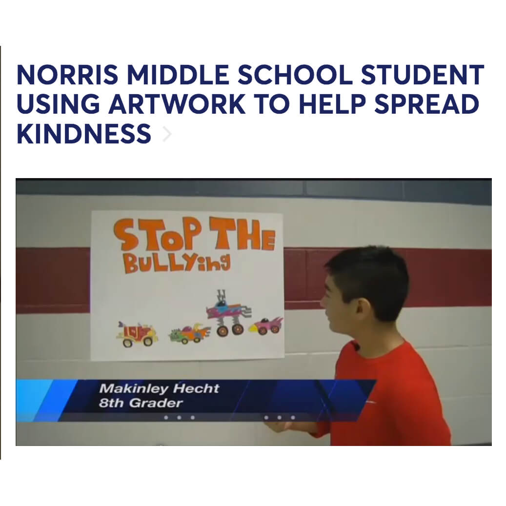 Autistic Student Artwork to Stop Bullying